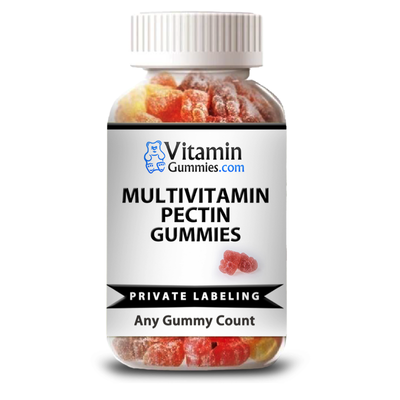 Private Label Adult Multi-vitamin Gummy Supplement | Vitamin Gummies